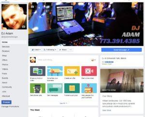 DJ Adam on Facebook